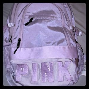 Lavender PINK backpack. Never used
